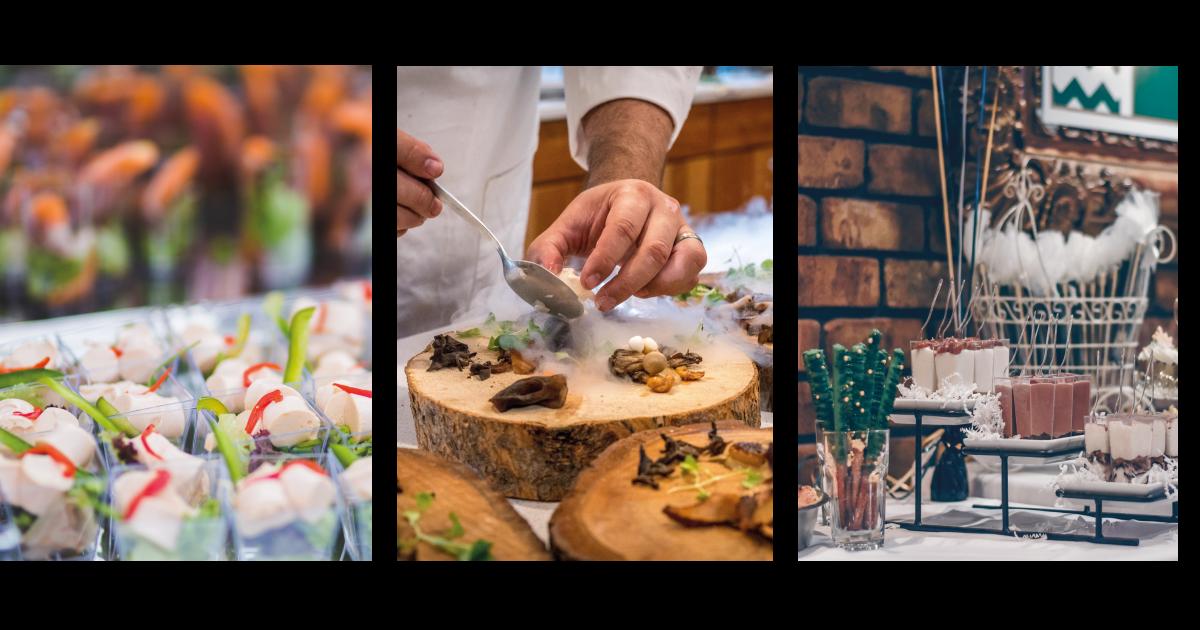 Lækker mad og appetizers til dit event