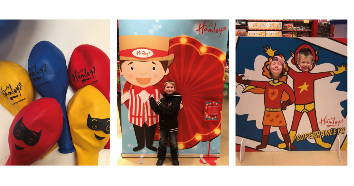 Hamleys eventmateriale