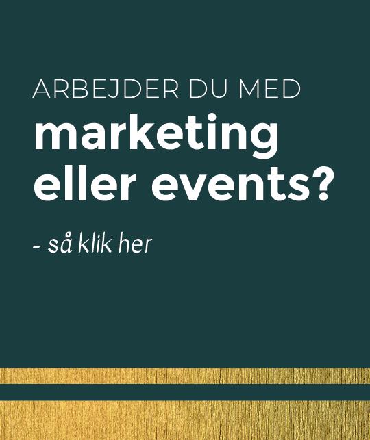 hjælp til tryksager marketing eller events