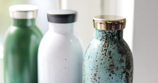 bæredygtige genbrugsvandflasker til dit event, messe eller konference
