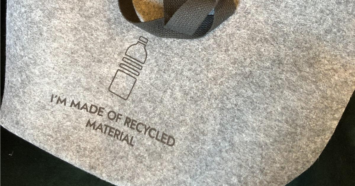 bæredygtige tasker til event, messe eller konference
